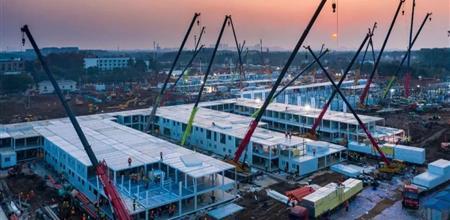 【Yabo直播平台展】10天建成火神山医院,装配式建筑就是这么快!